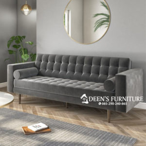 Sofa Modern Elba Grey