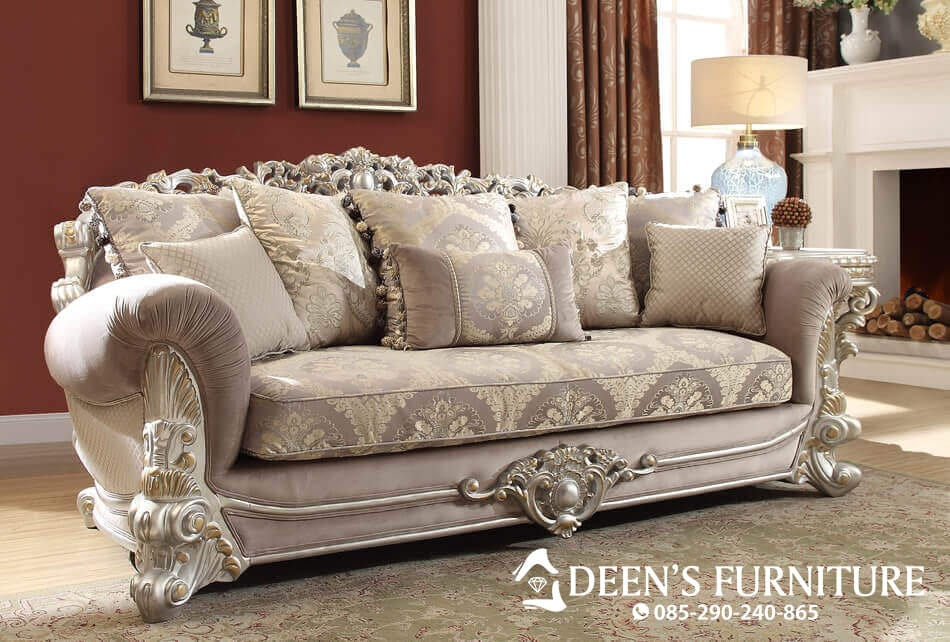 Sofa Tamu 3 Seater Royale Luxury