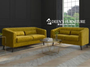 Sofa Tamu Lotti Yellow
